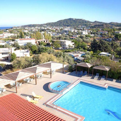 faliraki-rhodes-telhinis-hotel-pool-view